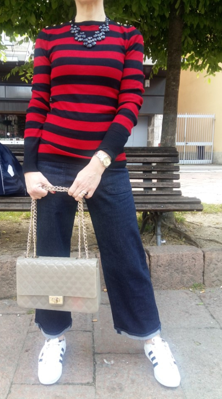 New outfit ! ! !   Domenica a righe ! ! !